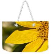 Golden Flower 1 Weekender Tote Bag