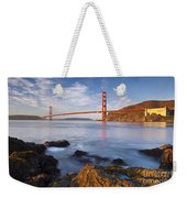 Golden Gate At Dawn Weekender Tote Bag