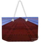 Golden Gate Bridge Vertical Weekender Tote Bag