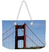 Golden Gate North Tower Weekender Tote Bag