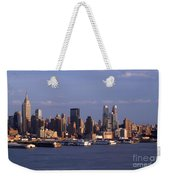 Golden Glow Of New York City Weekender Tote Bag