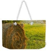 Golden Hay Field Weekender Tote Bag