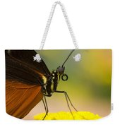 Golden Helicon On Flower Weekender Tote Bag