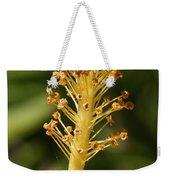 Golden Hibiscus Stamen Weekender Tote Bag