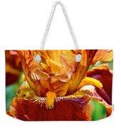 Golden Iris Weekender Tote Bag