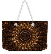 Golden Mandala 3 Weekender Tote Bag