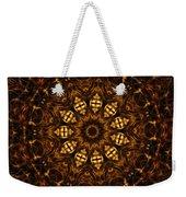 Golden Mandala 6 Weekender Tote Bag