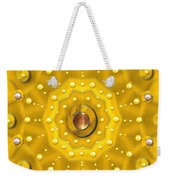 Golden Mandala With Pearls Weekender Tote Bag