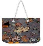Golden Maple Dew Drops Weekender Tote Bag
