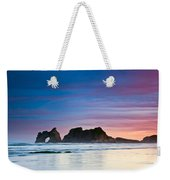Golden Morning At A Beach  Weekender Tote Bag