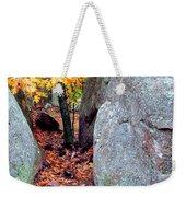 Golden Oak Through Boulders At Elephant Rocks State Park Weekender Tote Bag