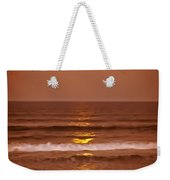 Golden Pathway To The Shore Weekender Tote Bag