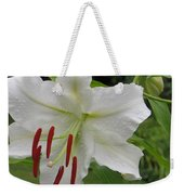 Golden Rayed  Lily Weekender Tote Bag