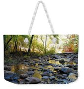 Golden Reflection In The Canyon Of  Light Weekender Tote Bag