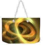 Golden Rings Weekender Tote Bag