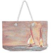 Golden Sails Weekender Tote Bag