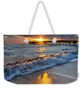 Golden Shadows Weekender Tote Bag