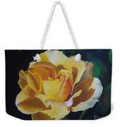 Golden Showers Rose Weekender Tote Bag