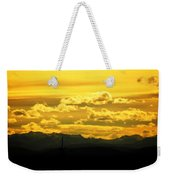 Golden Skies Weekender Tote Bag