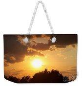 Golden Sky Over Genesee Weekender Tote Bag