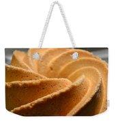 Golden Swirl Weekender Tote Bag