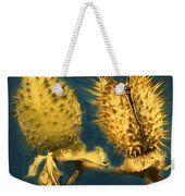 Golden Thistle Weekender Tote Bag