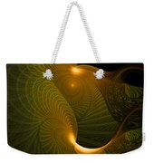 Golden Waves Weekender Tote Bag