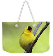 Goldfinch - All Puffed Up Weekender Tote Bag