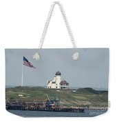 Golf At The Hudson Weekender Tote Bag