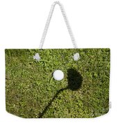Golf Ball And Shadow Weekender Tote Bag