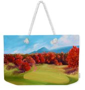 Golf Course In The Fall 2 Weekender Tote Bag