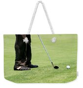 Golf Feet Weekender Tote Bag