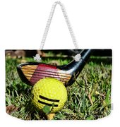 Golf - Tee Time With A 3 Iron Weekender Tote Bag