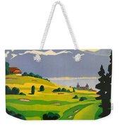 Golfing In Lausanne Weekender Tote Bag