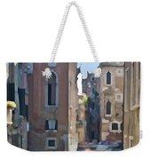 Gondola Painting Weekender Tote Bag