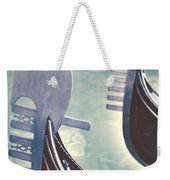 gondolas - Venice Weekender Tote Bag by Joana Kruse