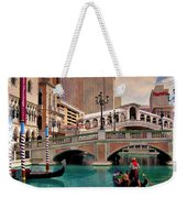 Gondolas On The Canal - Impressions Weekender Tote Bag