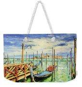Gondolla Venice Weekender Tote Bag