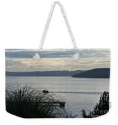 Gone Fishing Weekender Tote Bag
