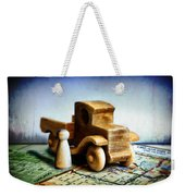 Gone Truckin Weekender Tote Bag