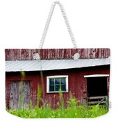 Good Ole Red Barn Weekender Tote Bag
