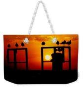 Goodnight Gulls Weekender Tote Bag by Karen Wiles