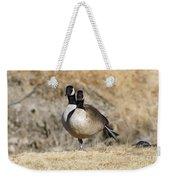 Goose Exercises  Weekender Tote Bag