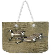 Goose Giving A Warning Weekender Tote Bag