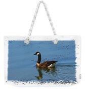 Goose On The Pond Weekender Tote Bag