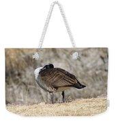 Goose Rubbing Its Back Weekender Tote Bag