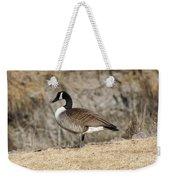 Goose Standing Still Weekender Tote Bag