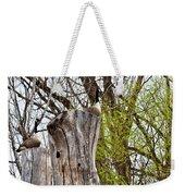 Goose Tree Weekender Tote Bag