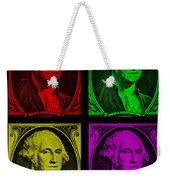 Gorge Washington In Colors Weekender Tote Bag