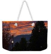 Gorgeous Sunrise On G Street Weekender Tote Bag